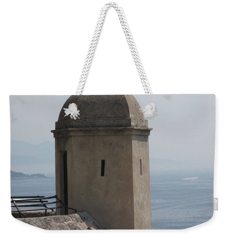 Look-out Weekender Tote Bag featuring the photograph Look - Out by Christiane Schulze Art And Photography