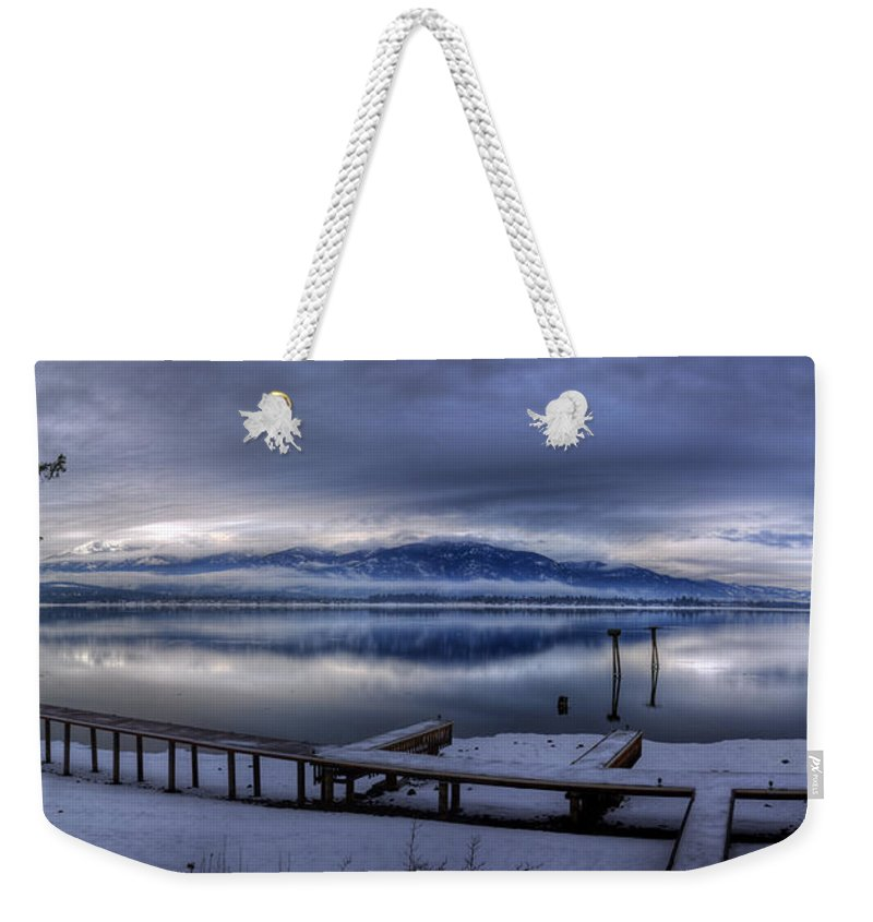 Landscape Weekender Tote Bag featuring the photograph Looking North From 41 South by Lee Santa