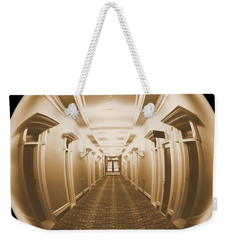 Looking Out Weekender Tote Bag featuring the photograph Looking Out by Carol Groenen