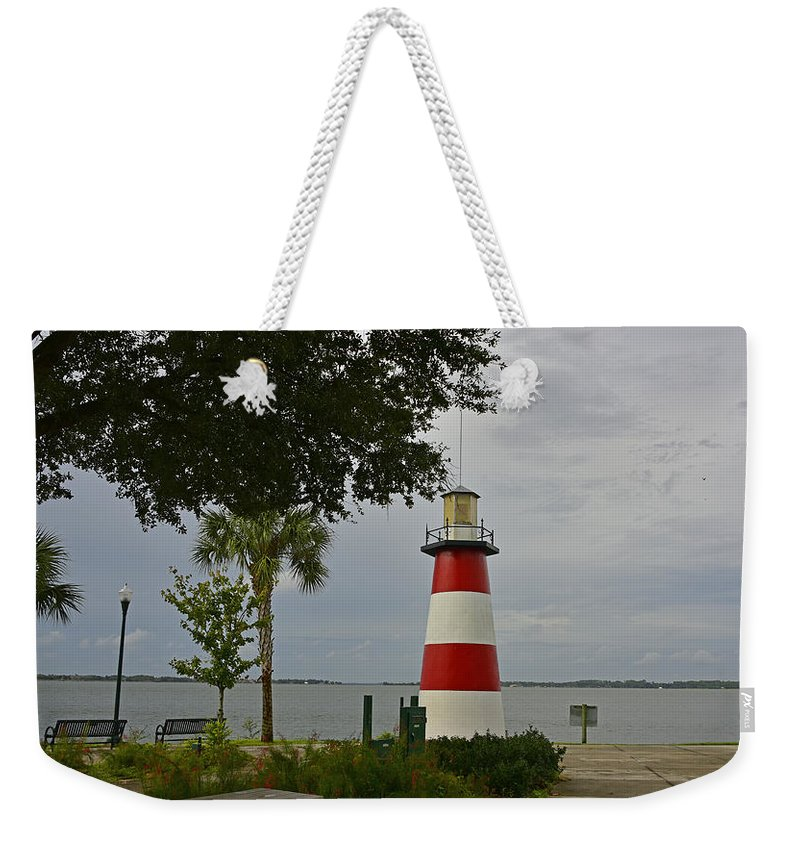 Landscape Weekender Tote Bag featuring the photograph Lookout Point by Deborah Good