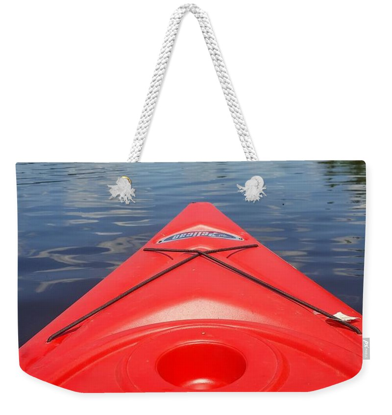 Loon Lake Weekender Tote Bag featuring the photograph Loon Lake Reverie by Melody Schuster