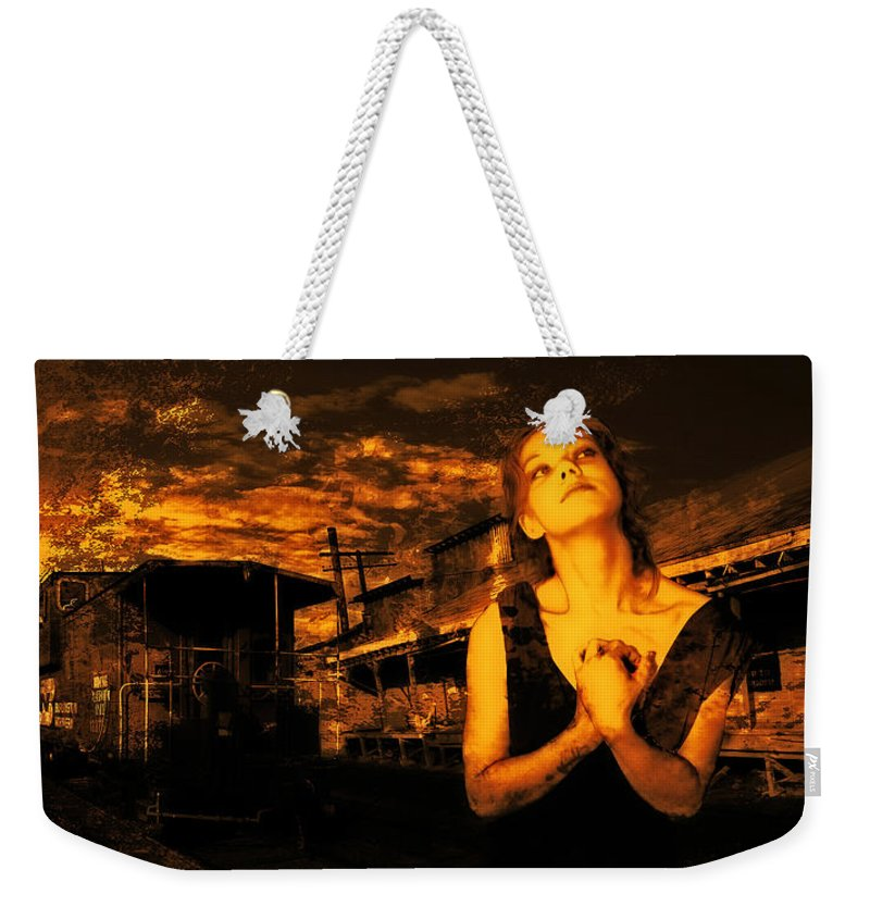 Iraq Weekender Tote Bag featuring the photograph Lord Let Him Come Home From Iraq by Jeff Burgess