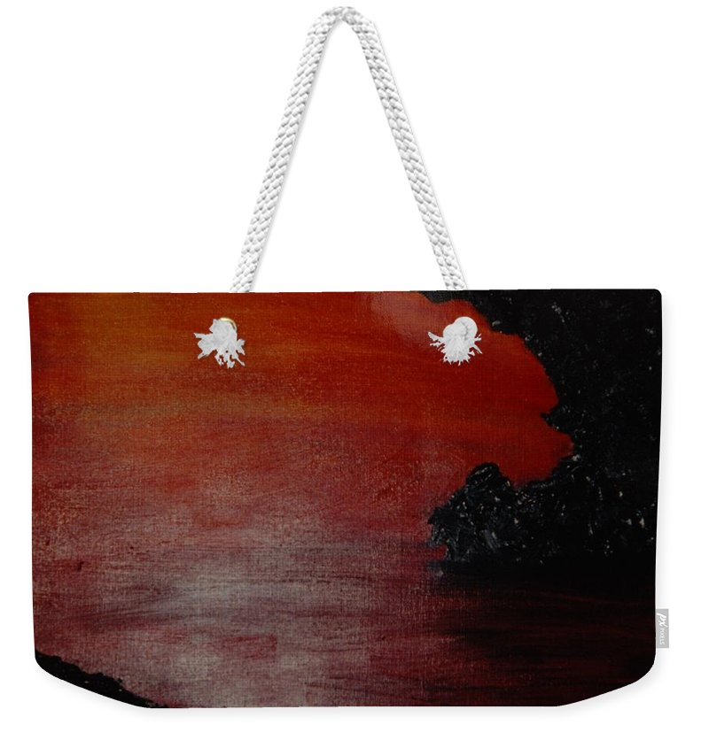 Painting Weekender Tote Bag featuring the photograph Lori's World by Rob Hans