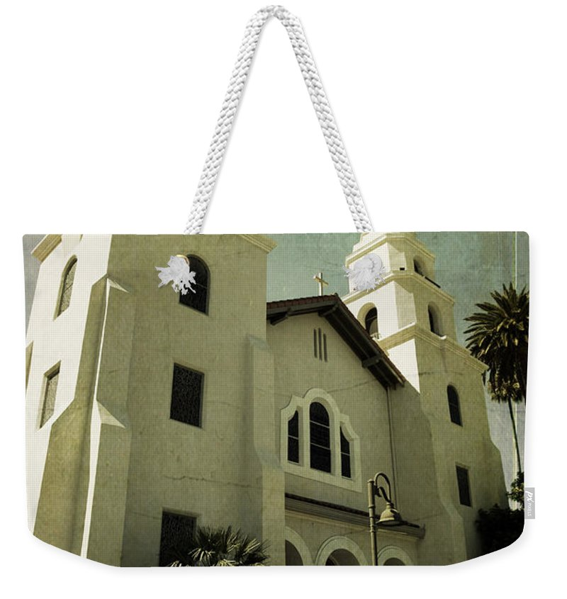 Church Weekender Tote Bag featuring the photograph Beverly Hills Church by Scott Pellegrin