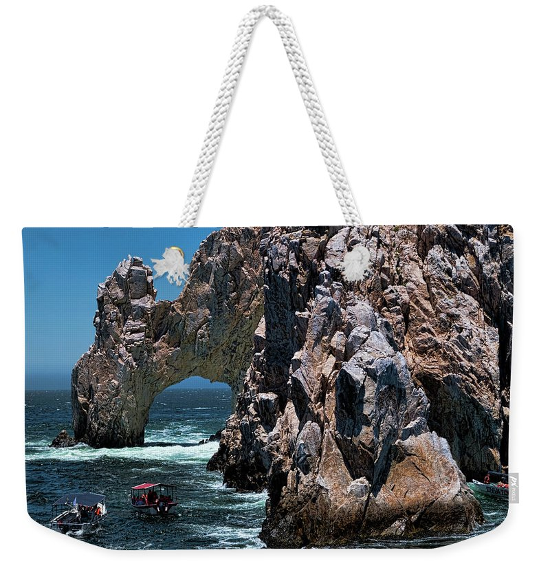 Cabo San Lucas Arch Weekender Tote Bags