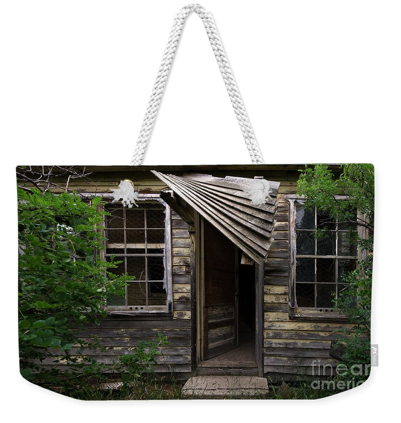 Building Weekender Tote Bag featuring the photograph Lost Dreams 4 by Bob Christopher