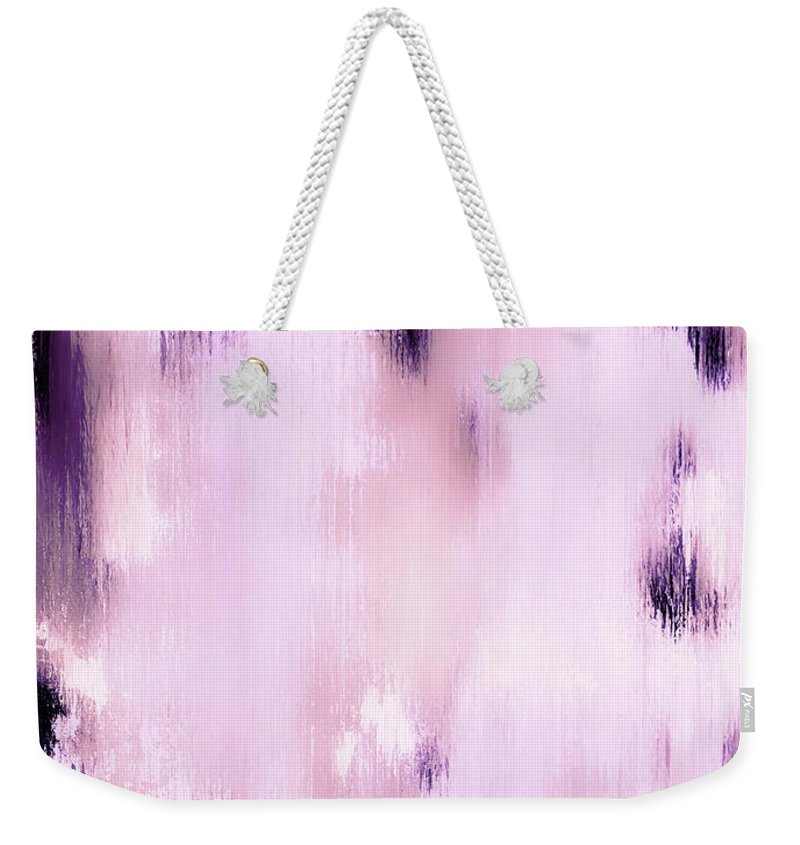 Abstract Weekender Tote Bag featuring the painting Lost In A Dream by Wayne Cantrell