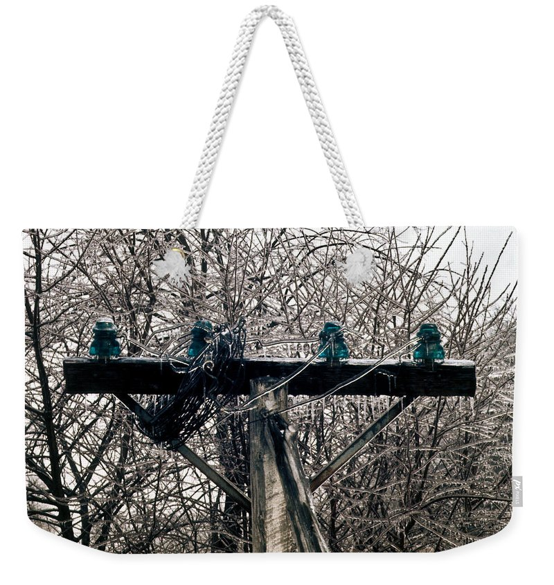 Lost Weekender Tote Bag featuring the photograph Lost Power by Douglas Barnett