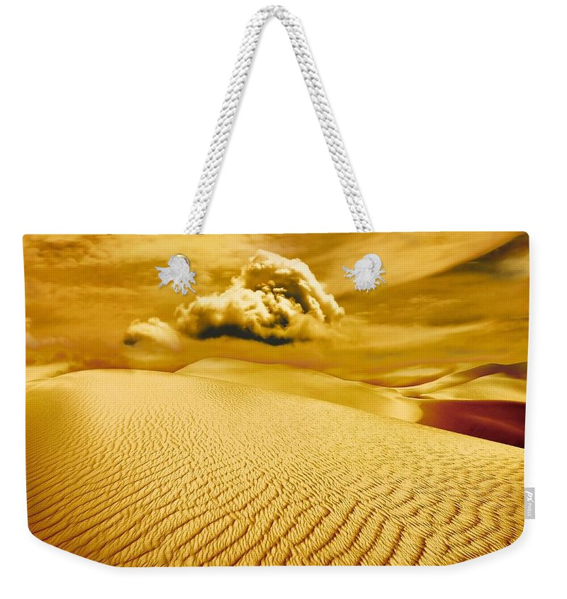 Desert Weekender Tote Bag featuring the photograph Lost Worlds by Jacky Gerritsen