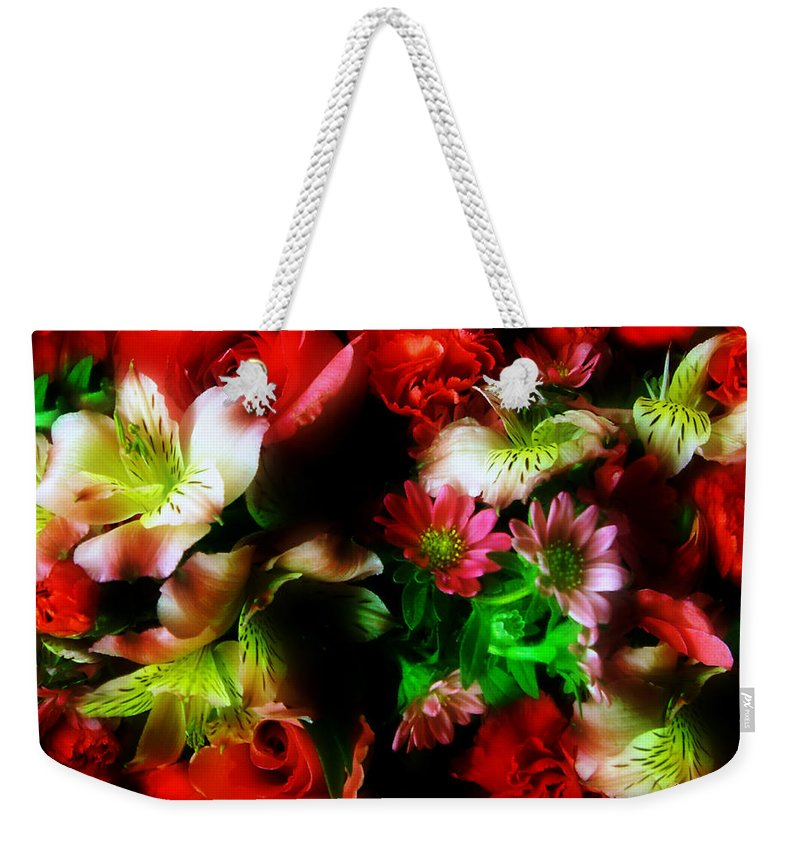 African Daisies Weekender Tote Bag featuring the photograph Loud And Proud by RC DeWinter