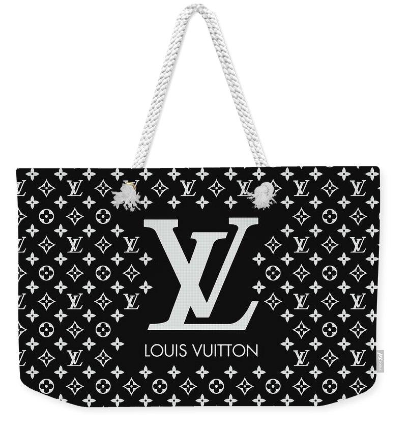 67944c8f7aa4 Louis Vuitton Weekender Tote Bag featuring the digital art Louis Vuitton  Pattern - Lv Pattern 11
