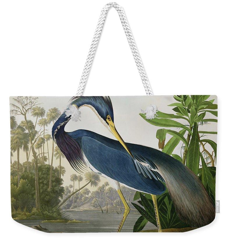 Audubon Weekender Tote Bags