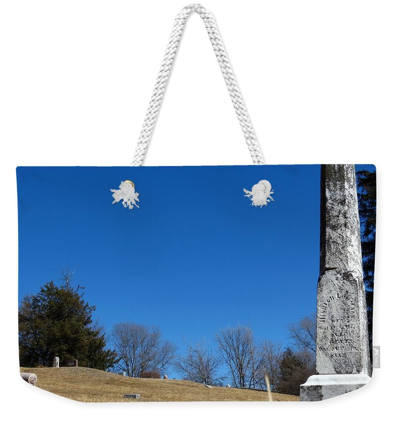 Nature Weekender Tote Bag featuring the photograph Loumann by Kyle West
