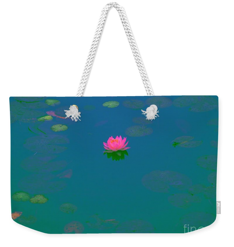 Abstract Weekender Tote Bag featuring the photograph See The Love Of God In You by Sybil Staples