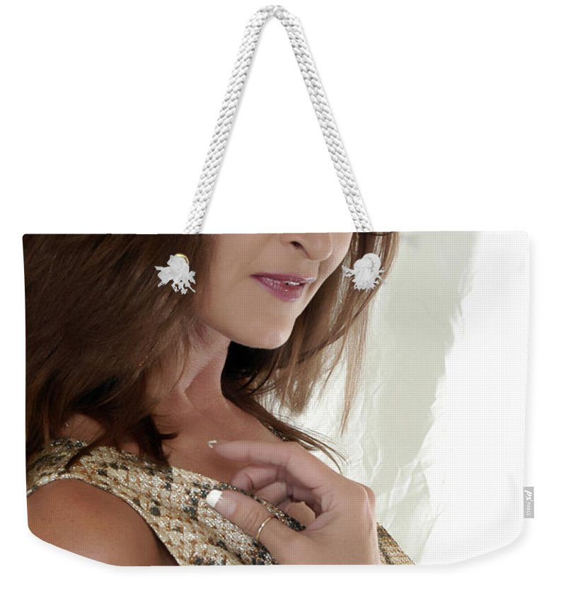 Clay Weekender Tote Bag featuring the photograph Love At First Sight by Clayton Bruster