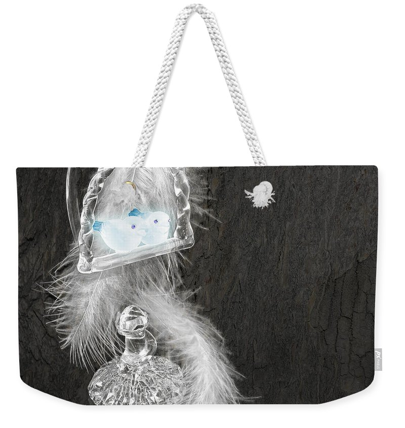 3d Weekender Tote Bag featuring the photograph Love Birds by Svetlana Sewell