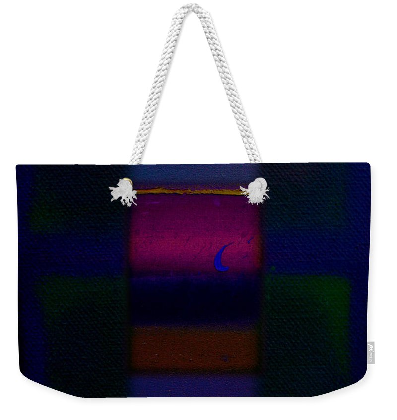Rothko Weekender Tote Bag featuring the painting Love Is Blue by Charles Stuart