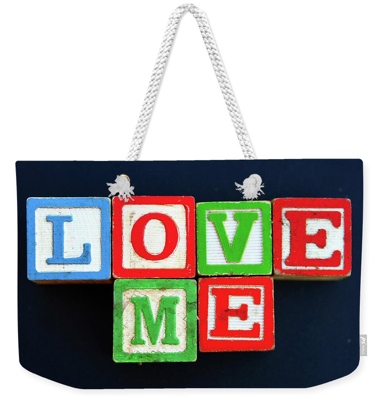 Love Me Weekender Tote Bag featuring the photograph Love Me by David Lee Thompson
