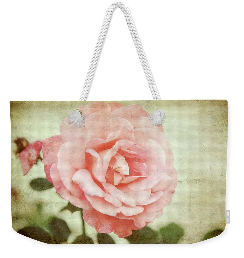 Rose Weekender Tote Bag featuring the photograph Love Rose by Toni Hopper