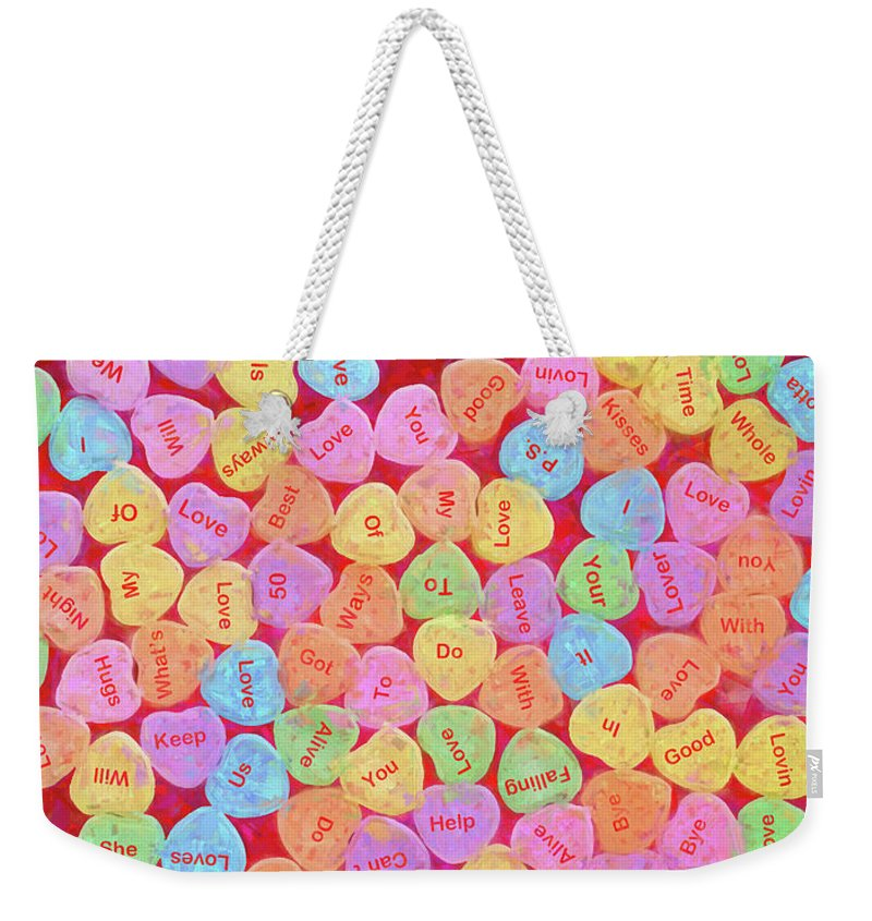 Love Weekender Tote Bag featuring the photograph Love Songs 3 by John Freidenberg