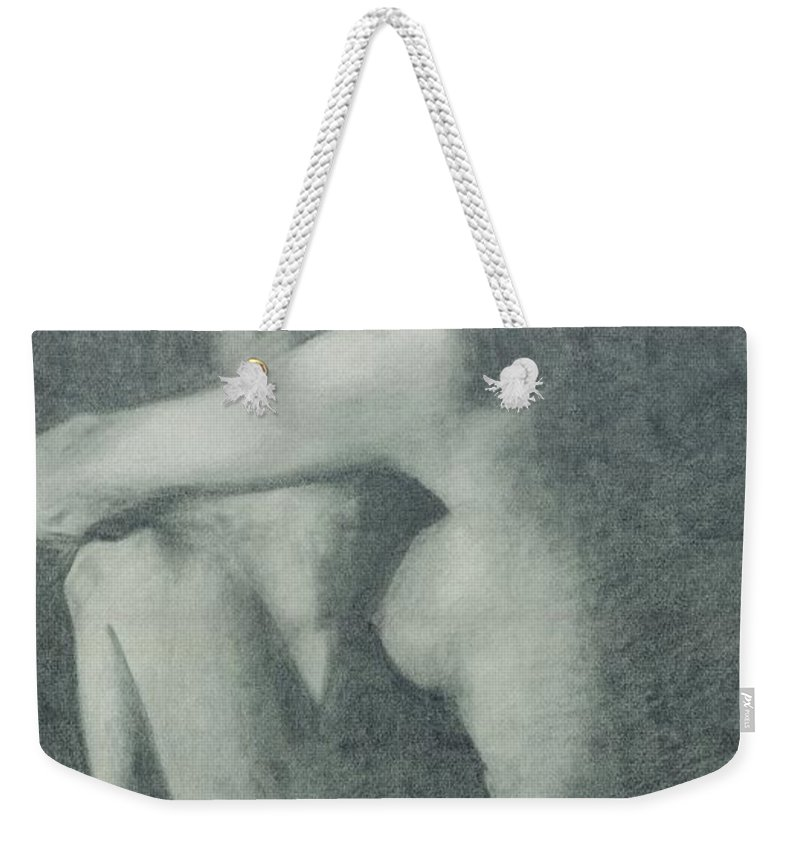 Cowgirls Weekender Tote Bag featuring the painting Love Those Cowgirls by Frances Marino