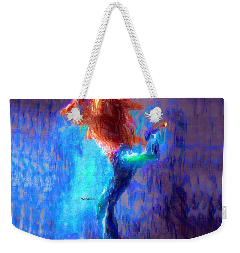 Art Weekender Tote Bag featuring the photograph Love To Dance by Rafael Salazar