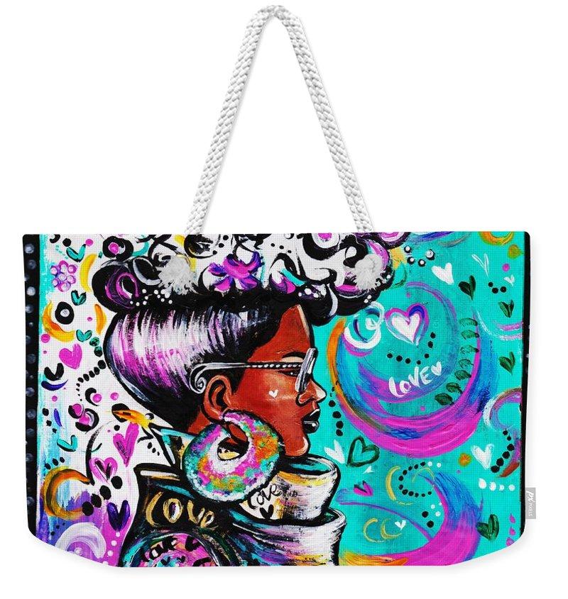 Colorful Weekender Tote Bags