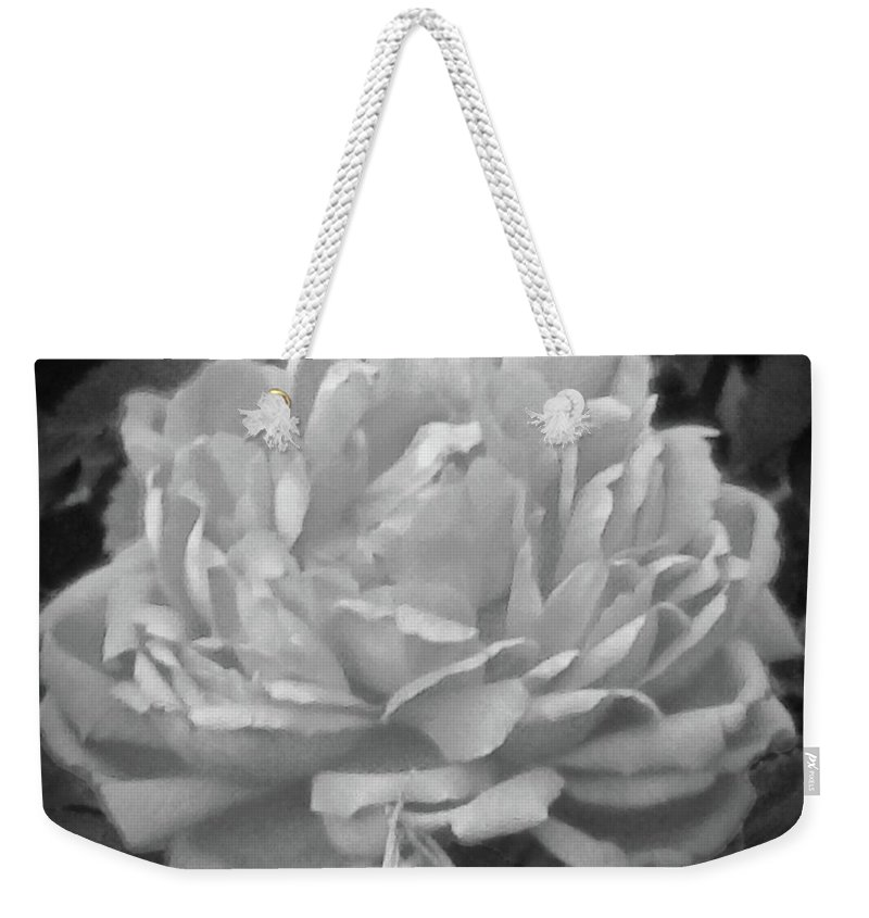 Flower Weekender Tote Bag featuring the photograph Lovely by Viki Velazquez