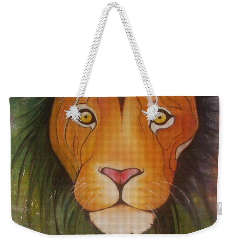 Animals Paintings Weekender Tote Bags