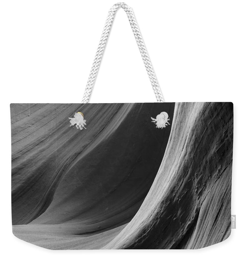 Slot Weekender Tote Bag featuring the photograph Lower Antelope Canyon 2 7920 by Bob Neiman