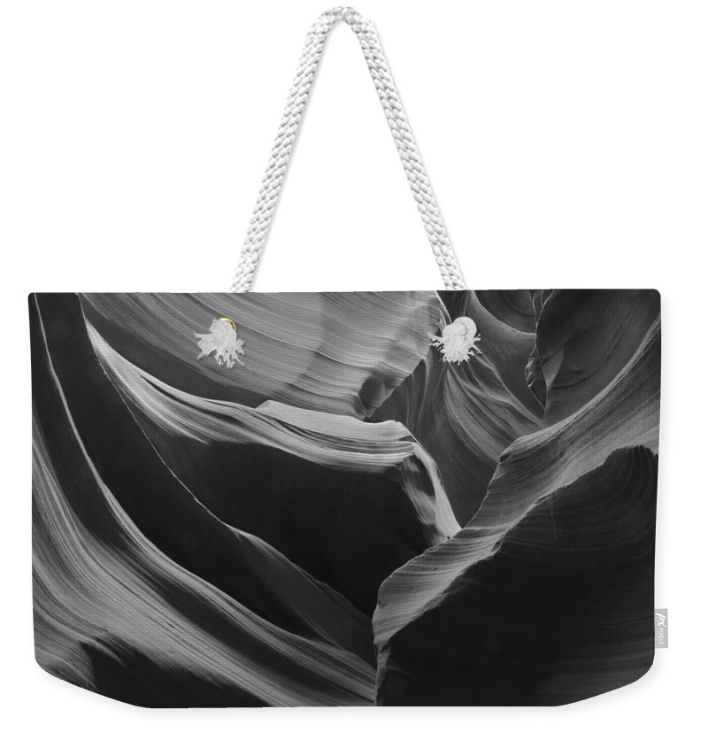 Slot Weekender Tote Bag featuring the photograph Lower Antelope Canyon 2 7963 by Bob Neiman