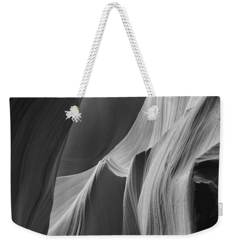 Slot Weekender Tote Bag featuring the photograph Lower Antelope Canyon 7746 by Bob Neiman