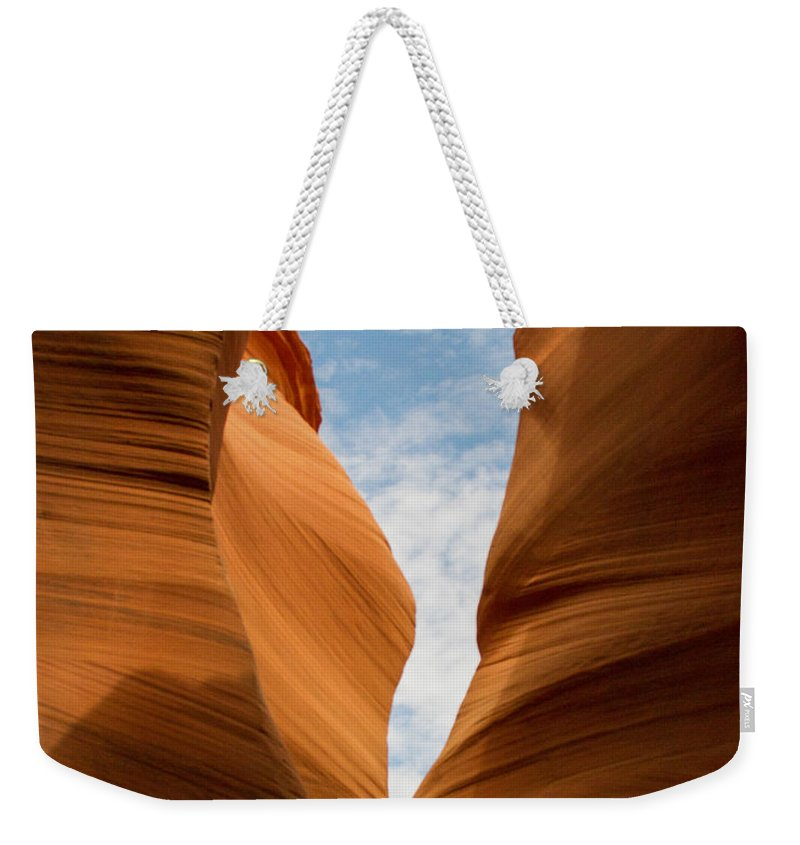 Slot Canyon Weekender Tote Bag featuring the photograph Lower Antelope Slot Canyon, Page, Arizona by Nicole Freedman