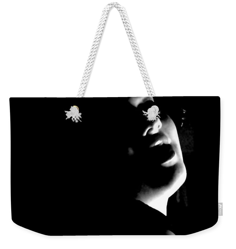 Woman Weekender Tote Bag featuring the photograph Lucious Sudlety by Scarlett Royal