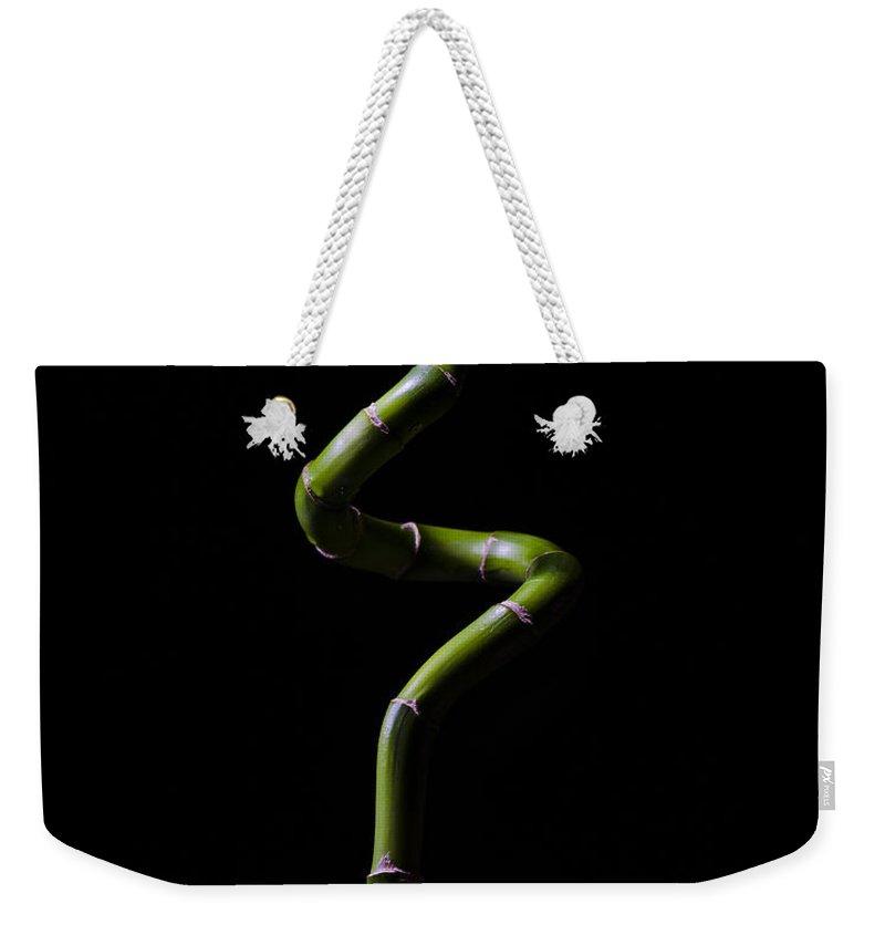 Garden Weekender Tote Bag featuring the photograph Lucky Bamboo by Pelo Blanco Photo