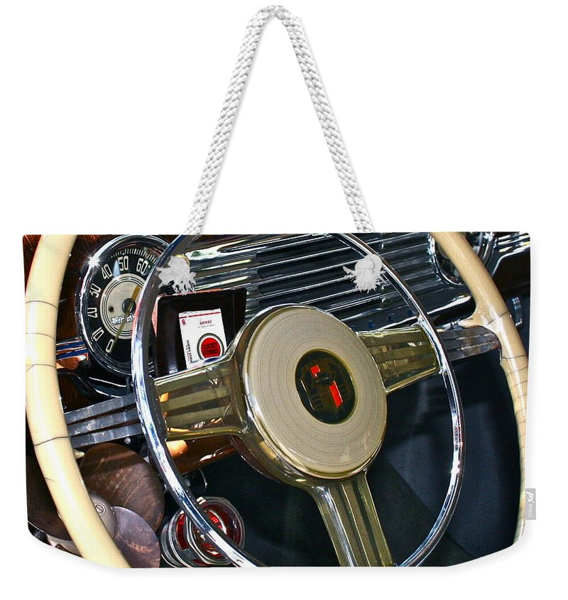 Photograph Weekender Tote Bag featuring the photograph Lucky Strike by Gwyn Newcombe