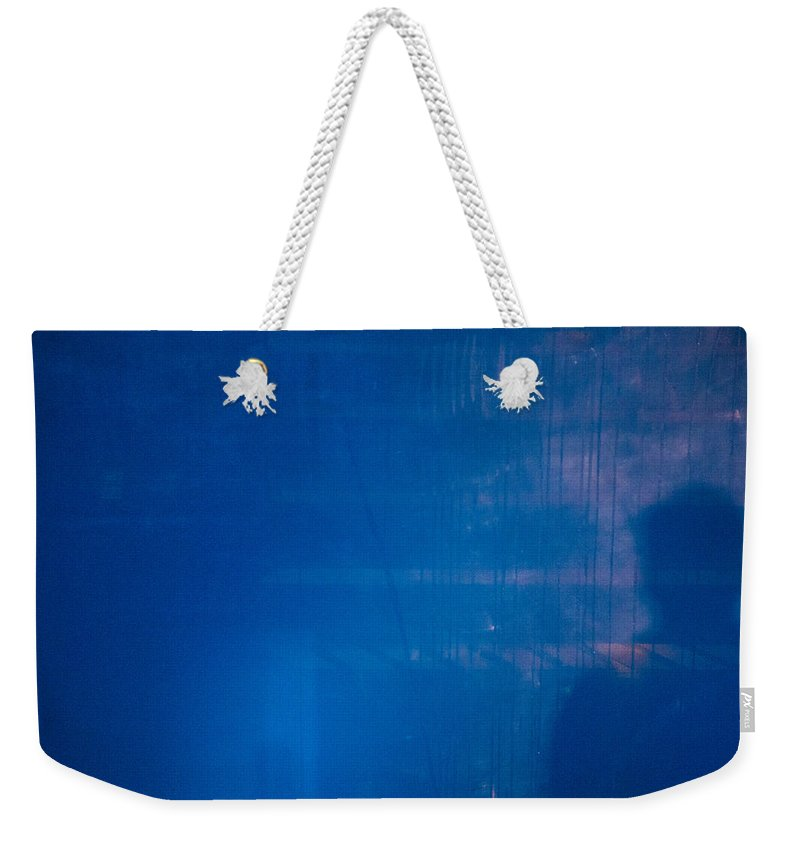 Lurking Shadow Weekender Tote Bag featuring the photograph Lurking Shadow by Karol Livote
