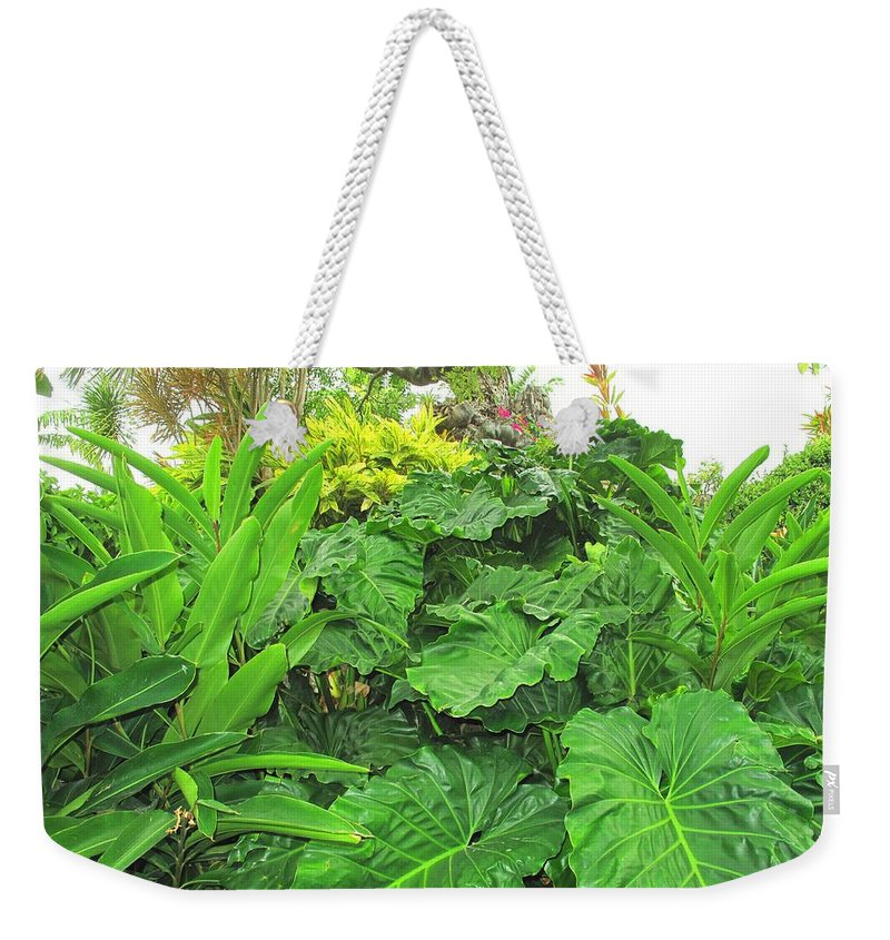 Vegetation Weekender Tote Bag featuring the photograph Lust Too by Ian MacDonald
