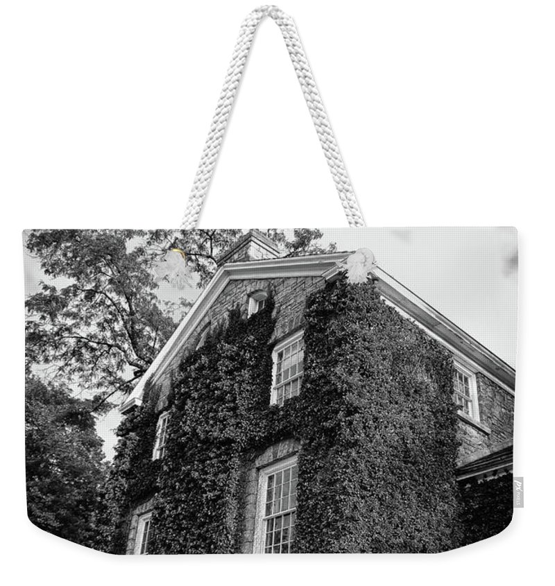 Canada Weekender Tote Bag featuring the photograph Mackenzie Printery 13134 by Guy Whiteley