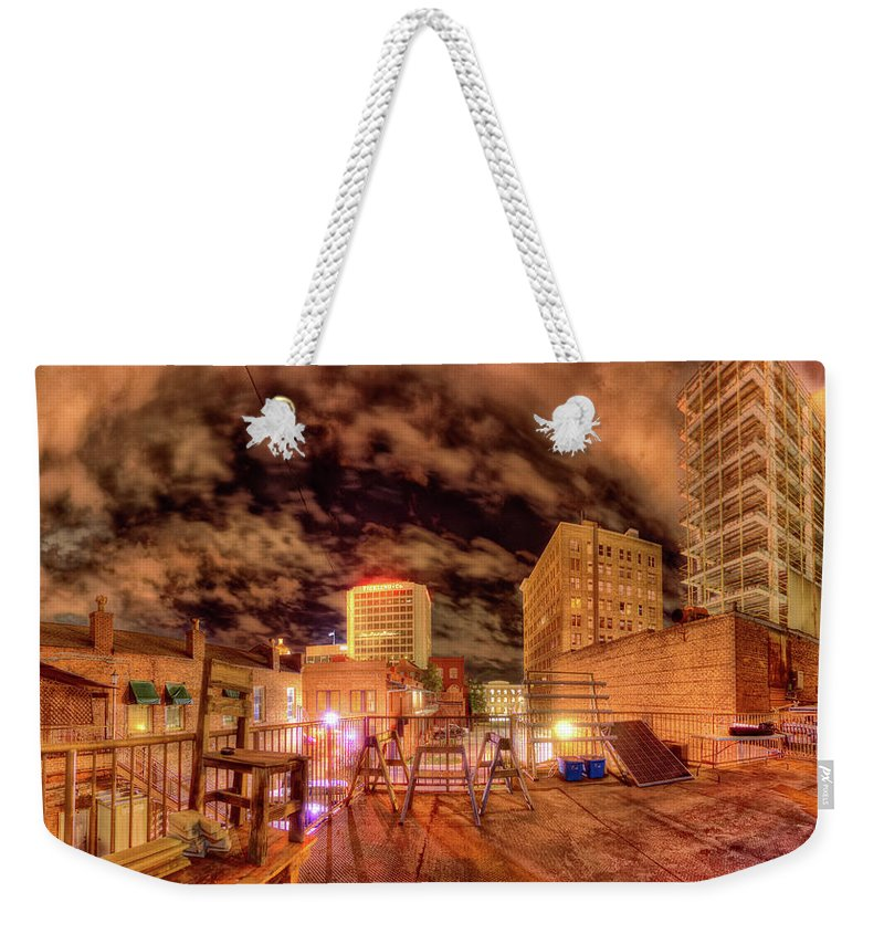 Macon Weekender Tote Bag featuring the photograph Macon' The Dream by Doug Nurnberger