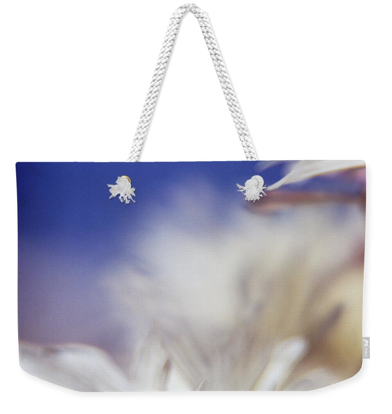 Flower Weekender Tote Bag featuring the photograph Macro Flower 1 by Lee Santa