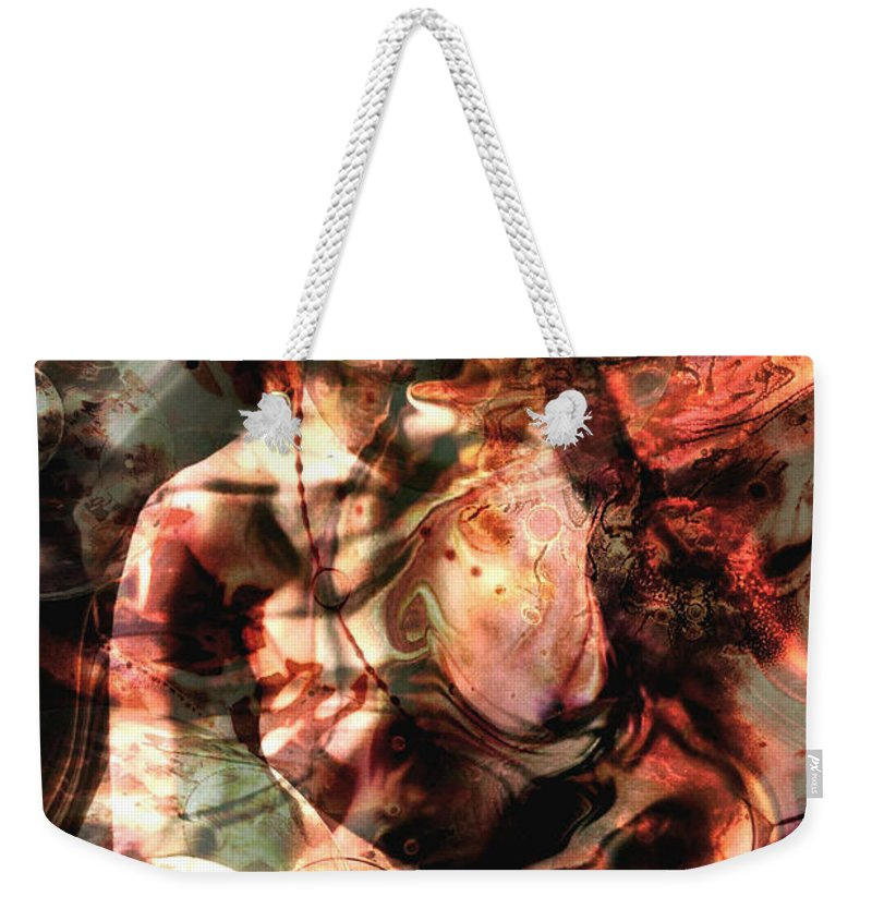 Inspirational Weekender Tote Bag featuring the photograph Madame Mercury... by Arthur Miller