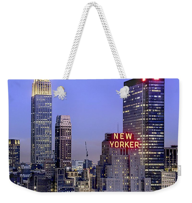 Kremsdorf Weekender Tote Bag featuring the photograph Made In New York by Evelina Kremsdorf