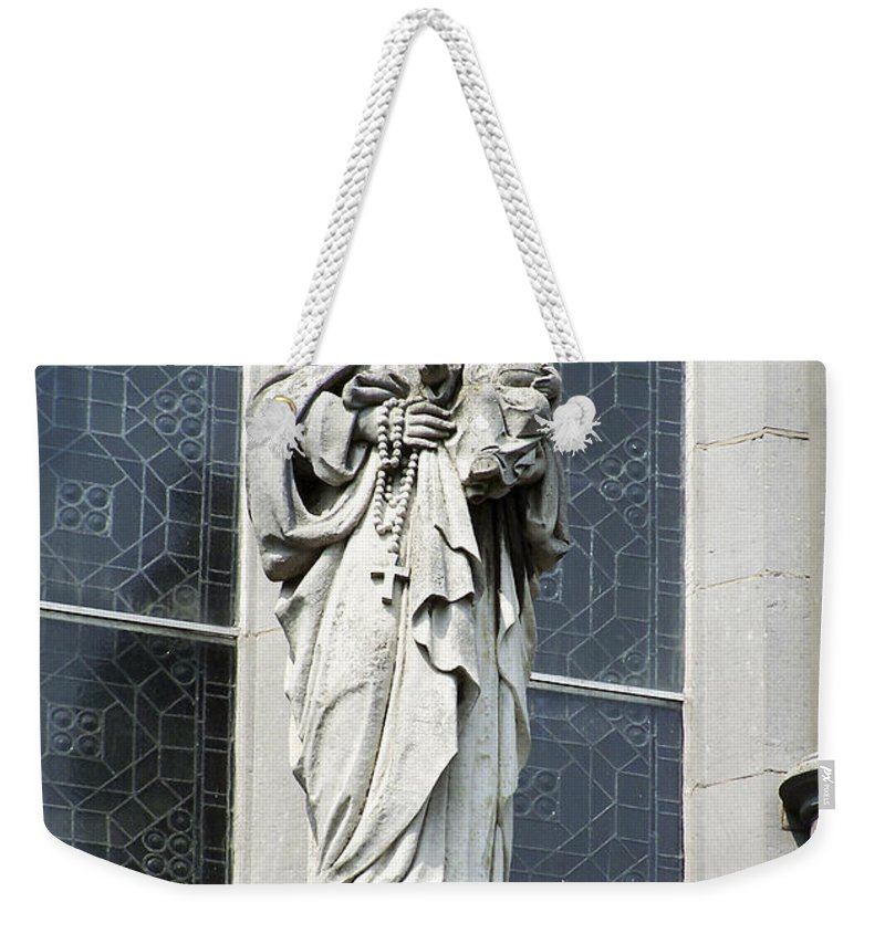 Ireland Weekender Tote Bag featuring the photograph Madonna and Child by Teresa Mucha