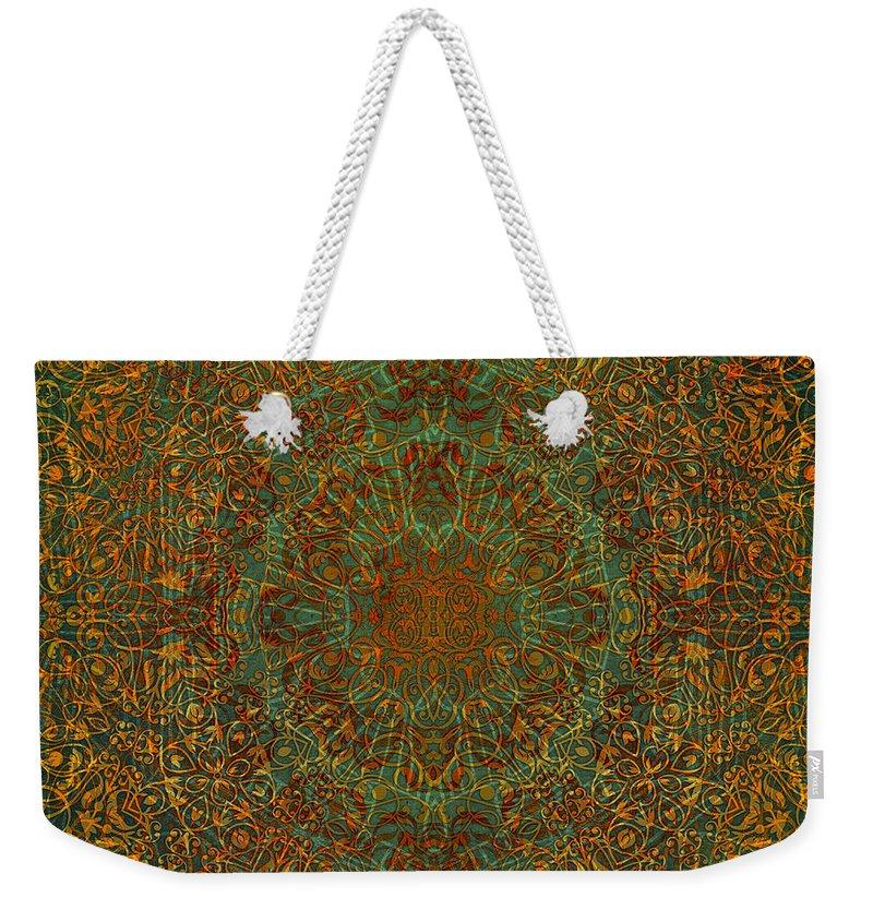 Magic Weekender Tote Bag featuring the digital art Magic 6 by Justyna JBJart