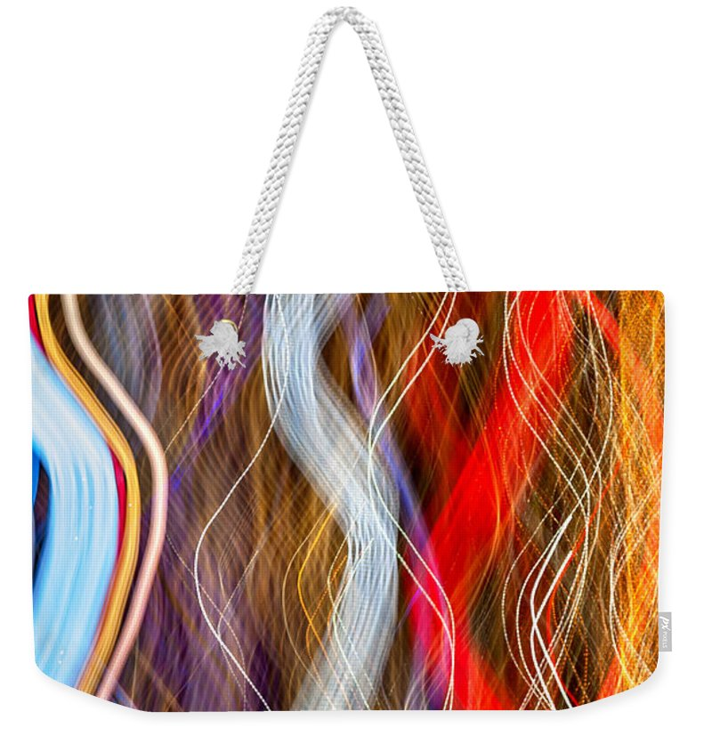 New York City Weekender Tote Bag featuring the photograph Magic Carpet Ride by Az Jackson