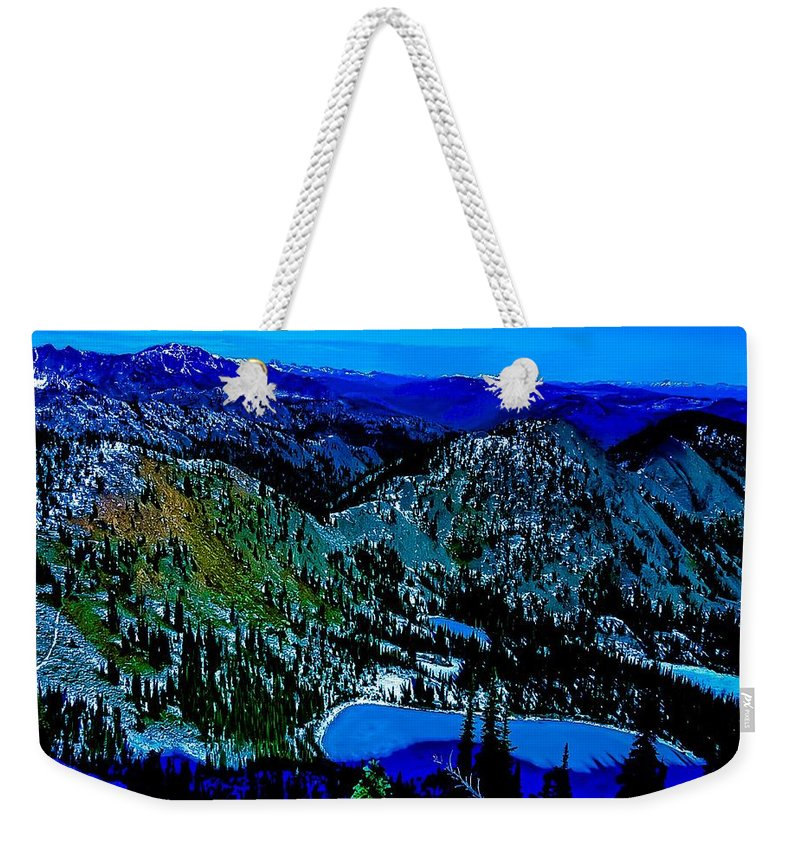 Weekender Tote Bag featuring the photograph Magic Kingdom by Dan Hassett