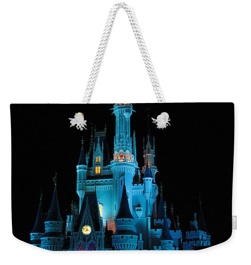 Disney Weekender Tote Bag featuring the photograph Magic Kingdom by Stacey May