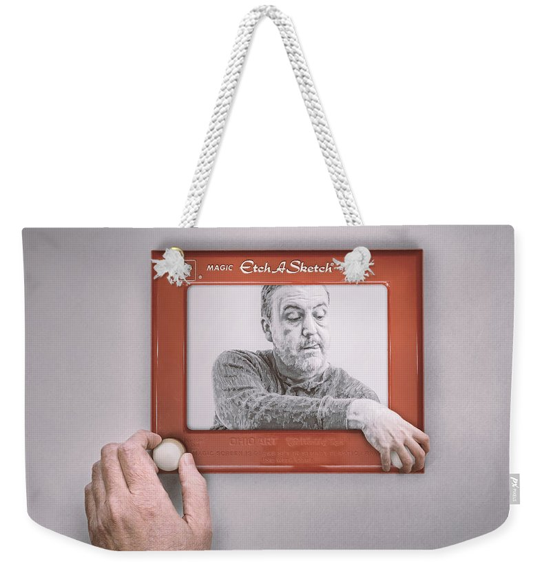365 Project Weekender Tote Bag featuring the photograph Magic Screen Duet by Scott Norris