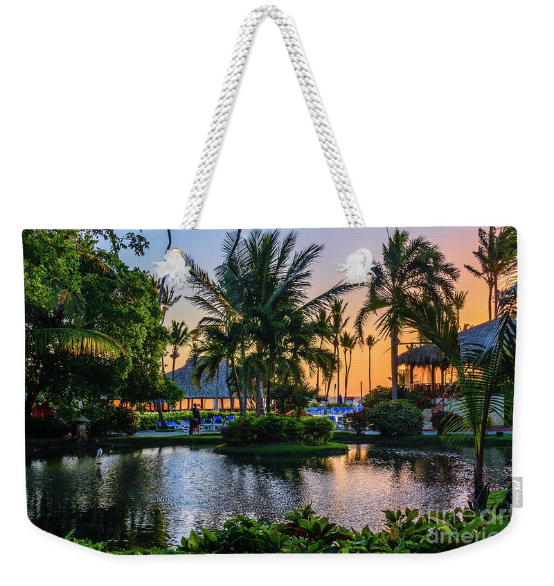 Natura Park Weekender Tote Bag featuring the photograph Magic Sunrise. by Viktor Birkus